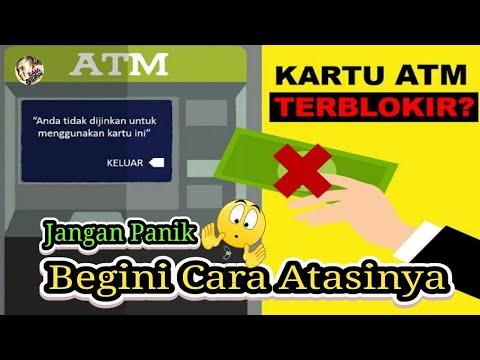 CARA MEMBUKA BLOKIR KARTU ATM DI BANK TERDEKAT