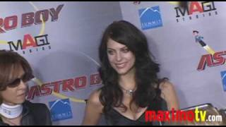 Julia Voth at ASTRO BOY Premiere October 19, 2009
