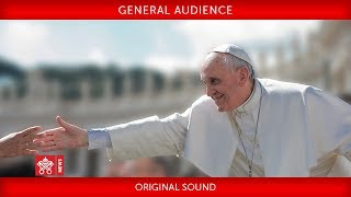Pope Francis - General Audience 2018-11-07
