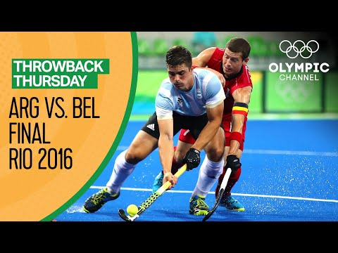 Argentina vs Belgium - Men's Hockey Gold Medal Match | Rio 2016 Replays | Throwback Thursday