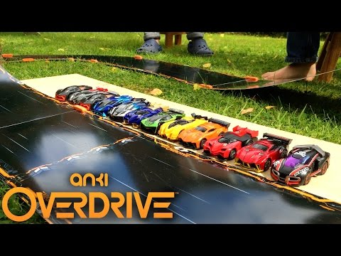 Anki Overdrive - Track Tips: Day, Night, Wet And Garden Tracks [Day 1]