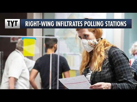 Right-Wing Nut Jobs Infiltrate Polling Stations