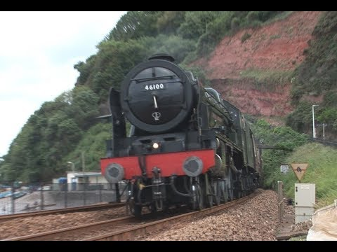 Dawlish Loco Hauled with 37059, 46100 'Royal Scot' ,57605 'T…