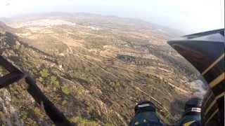 preview picture of video 'parapente biplaza valencia'