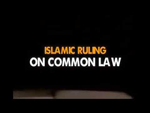 Islamic Ruling on Studying common Law sheikh Abdulganiy Jumah