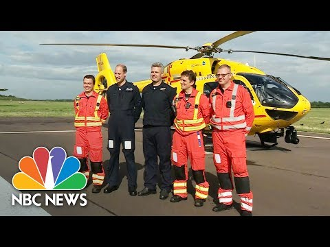 Prince William Set To Pilot Last Shift With Emergency Rescue Team | NBC News