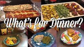 Whats For Dinner?| Easy & Budget Friendly Family Meal Ideas| March 25-31, 2019