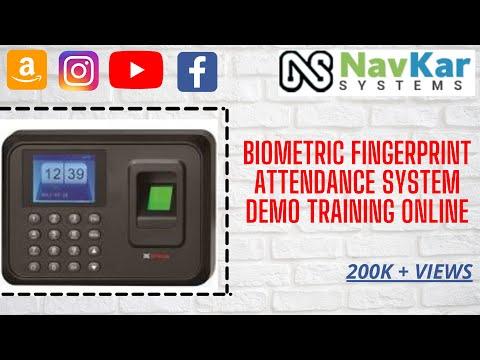 Biometric Fingerprint Attendance System Demo Training Online in ...