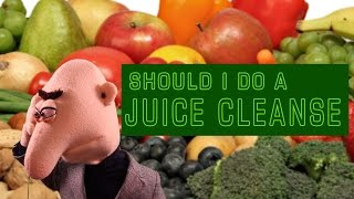 Dear Dunch: Should I Do a Juice Cleanse? Bad Advice from an Internet Troll Puppet