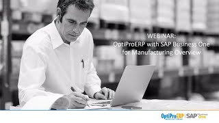 OptiProERP with Sap Business One video