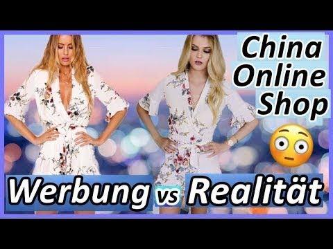 WERBUNG VS. REALITÄT I CHINA ONLINE SHOP - LIVE TEST!