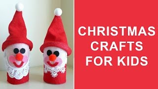 Christmas Crafts For Kids | Easy Christmas Craft Ideas For Kids To Make At Home