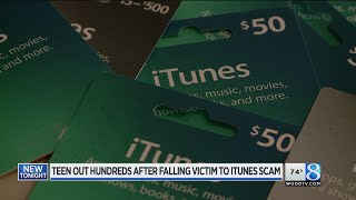 Out $800, family warns of iTunes gift card scam