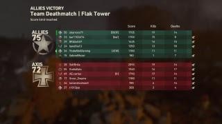 Call of duty ww2 TDM gameplay