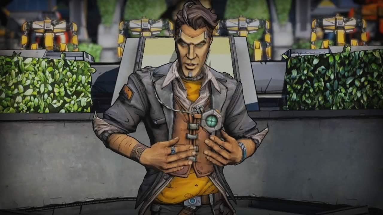 Borderlands 2's Villain Is Mighty Handsome. Game Looks Good, Too.