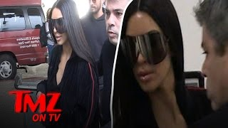 Kim Kardashian Lasers On A Plane  TMZ TV
