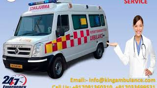 Advanced Life Support Ambulance Service in Kusai and Kurchery by King
