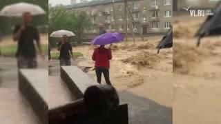 VL.ru - Уссурийск и Хасанский район затопило после сильных ливней