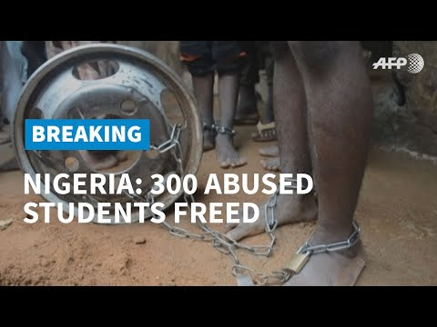 Over 300 abused students freed from Nigerian 'Islamic school' | AFP