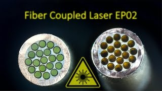 30W Laser Burning Stone + New CC Driver + Fiber Termination Lapping