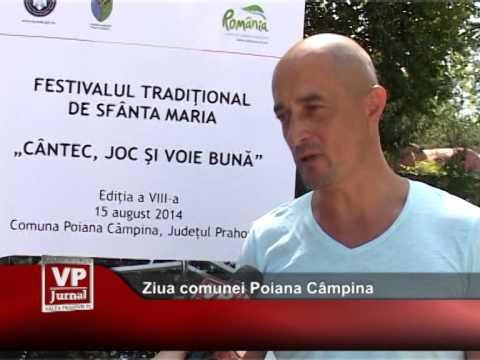Ziua comunei Poiana Câmpina