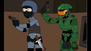 Halo Vs. Counter-Strike HD