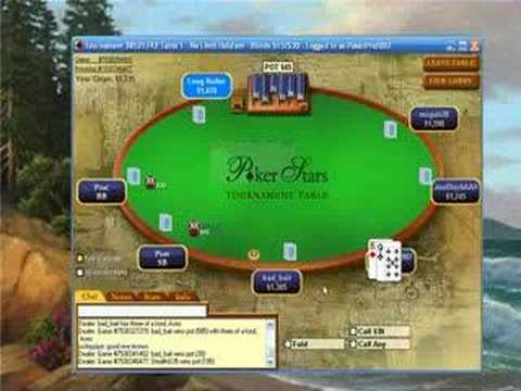Texas holdem sit and go strategie