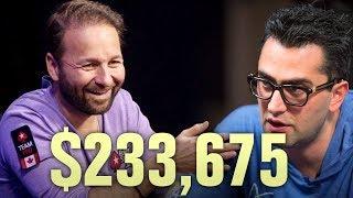 Daniel Negreanu DESTROYS Esfandiari - Three Huge Poker Hands