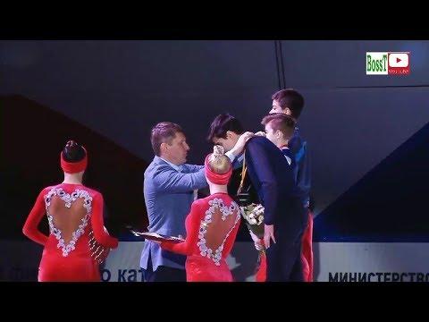 Junior Men Victory Ceremony - Rus Jr Nats 2019