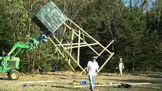 Missouri Shadow Hunter 6x6 Hunting Blind Setup #1 Deer Stand Redneck Hillbilly Style