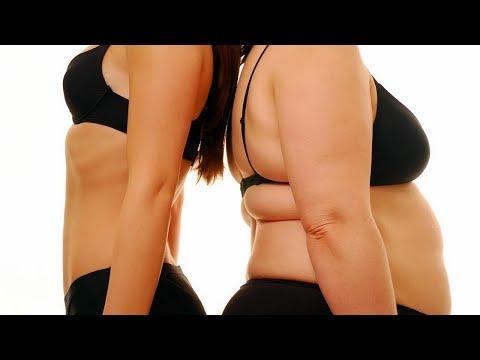Squat poussée pour perdre la graisse du ventre