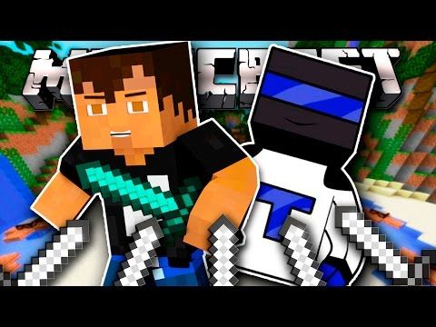 КОМАНДНЫЙ БОЙ! ШЕД + ТЕРОСЕР! | [Hunger Games Minecraft]