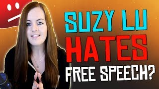 "Suzy Lu - ""False Flagging & Trying To Get Channels Terminated""...Does Suzy Lu Hate Free Speech?!"