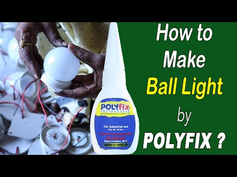 Polyfix Noon Blooming Glue For Making Ball