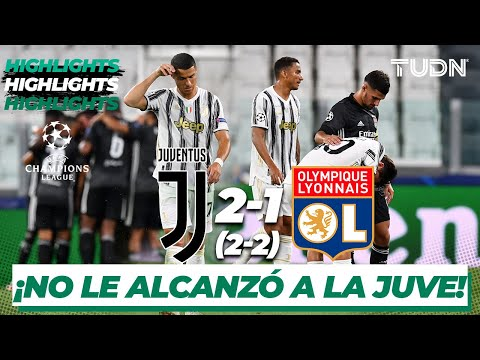 Highlights | Juventus 2-1 Lyon | Champions League 2020 – Octavos final | TUDN