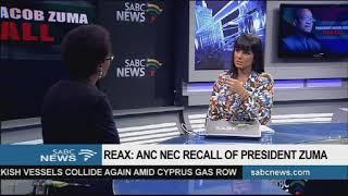 Events leading to Zuma