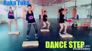 SALSA CHOKE-RAKATA DANCE STEP&LATÍN BODY