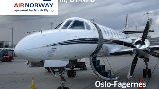 "Air Norway  Fairchild Metro Oslo-Fagernes ""Full Flight"""