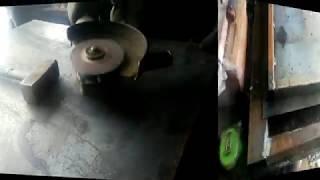Изготовление простой металлической двери .