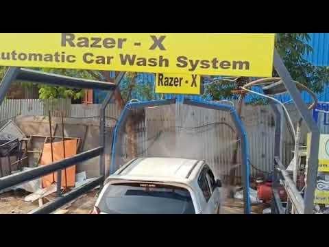 Full Body Automatic Car Washing System
