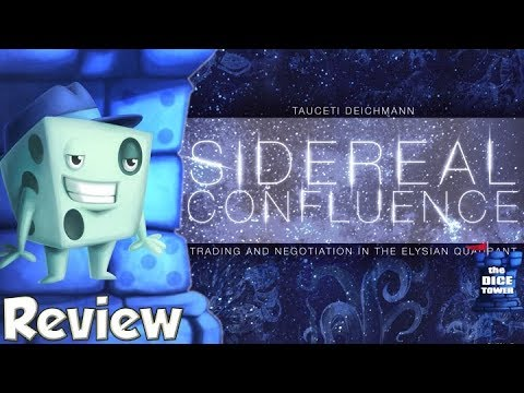 Sidereal Confluence Review - with Tom Vasel