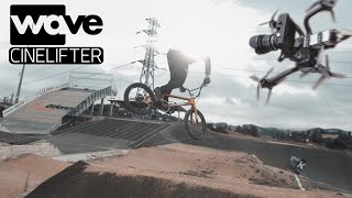 SLOWMOTION CAMERA ON FPV CINELIFTER (FREEFLY WAVE) 4K FOOTAGE by STEPHANE COUCHOUD