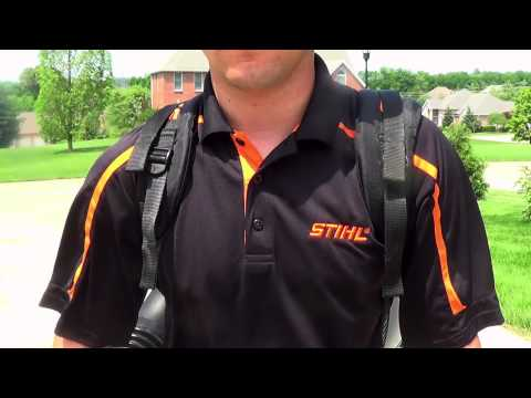 Stihl BR 600 in Kerrville, Texas - Video 2