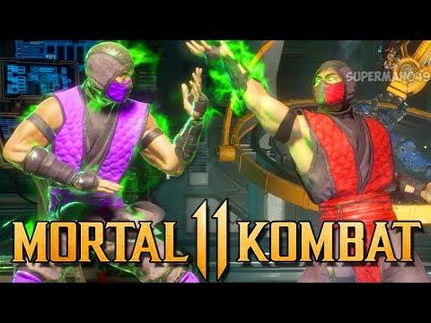 "Insane 500 Damage Combo With Ermac & Rain! - Mortal Kombat 11: ""Shang Tsung"" Gameplay"