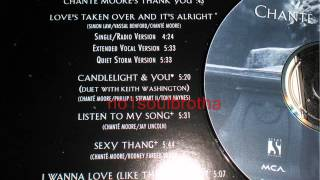 """Chanté Moore """"Love's Taken Over and It's Alright"""" (Single/Radio Version)"""