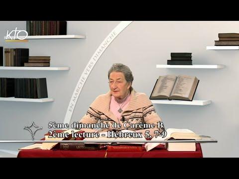 5e dimanche de Carême B - 2e lecture