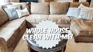 Cleaning Motivation | Whole house cleaning part 4 | Clean with me