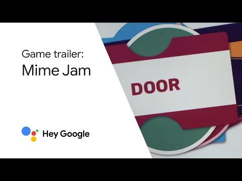 Hey Google, play Mime Jam!