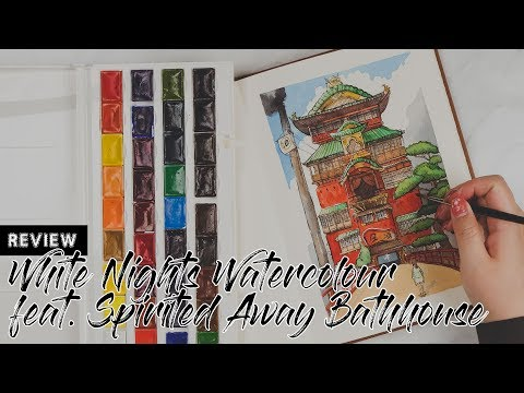 Review | White Nights Watercolour - feat. The Spirited Away Bathhouse