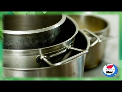 Como limpiar las ollas y sartenes de acero inoxidable quemadas